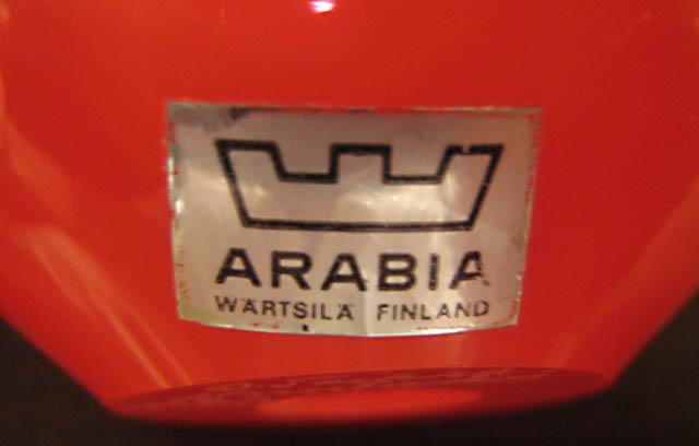 ARABIA - Wärtsilä - Finland / 1972 - 1975