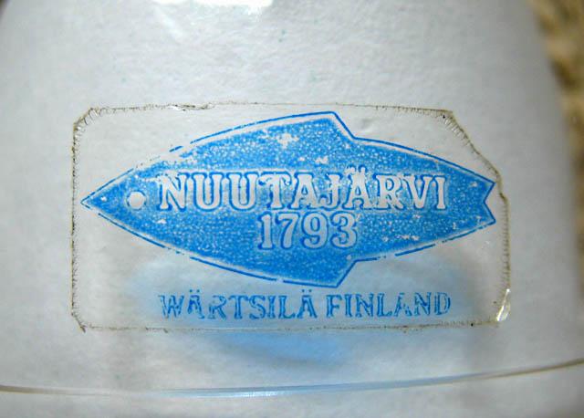 Clear Nuutajärvi 1793 - Wärtsilä - Finland Label / 1977 - 1993